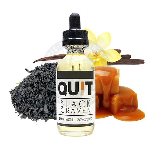 BLACK CRAVEN BY USA VAPE LAB - QUIT