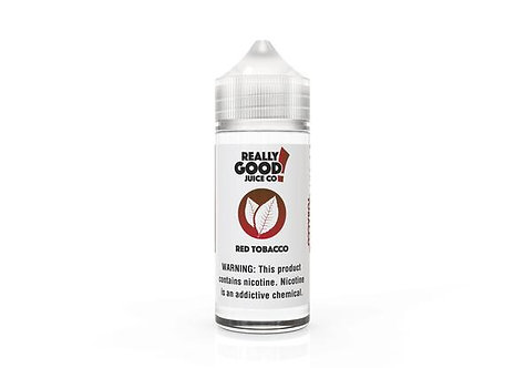RED TOBACCO - REALLY GOOD JUICE CO.