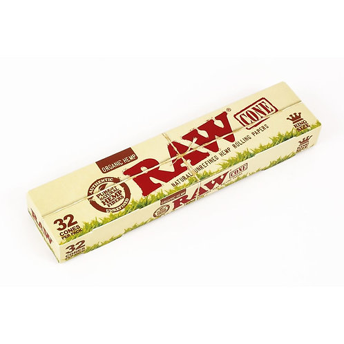 RAW ORGANIC KING SIZE CONES