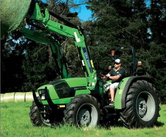 90-120hp ROPS & Cabin Tractors