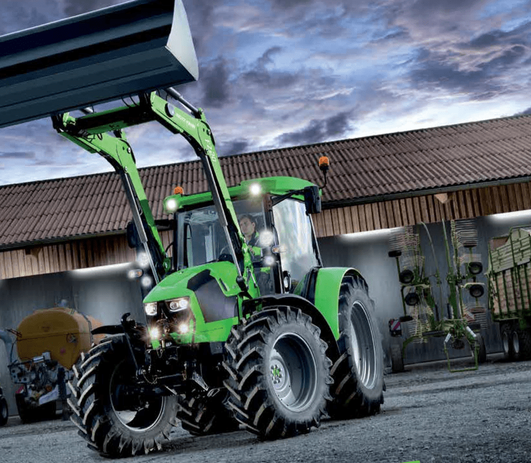 120-160hp Cabin Tractors