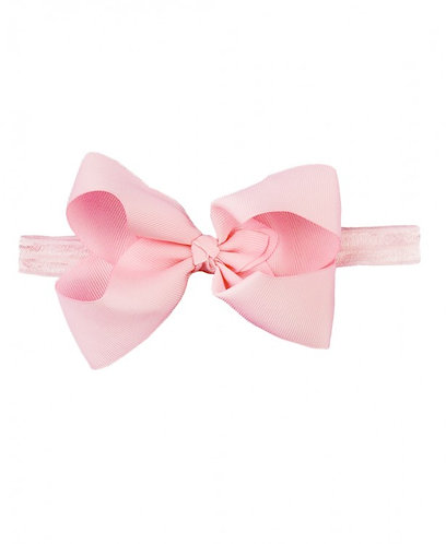 Pink Headband Bow