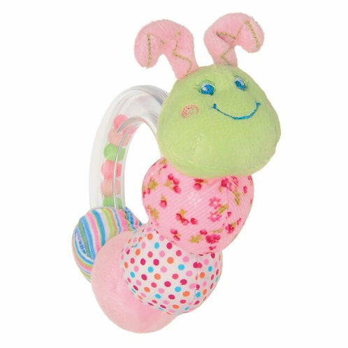 Cutesie Caterpillar Rattle