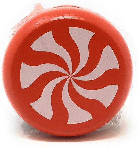 Classic Wooden Peppermint Yo-yo