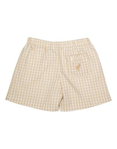 Beaufort Bonnet Shelton Shorts - Keenland Khaki Gingham