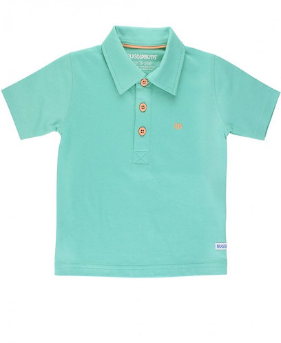 Rugged Butts Turquoise Polo Shirt