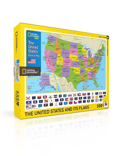USA Kids Map Puzzle