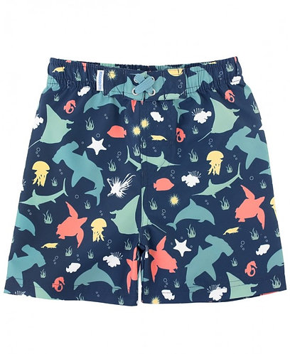 Rugged Butts Under the Sea Swim Trunks