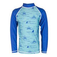 Long Sleeve Shark Rashguard