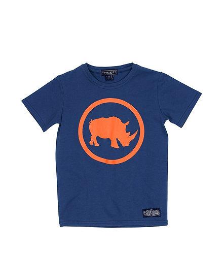 TooByDoo Blue & Orange - Camp Rhino Shirt