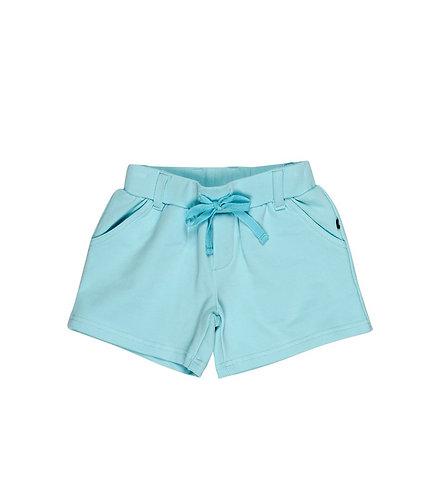 Miss Shortie - Aqua Shorts