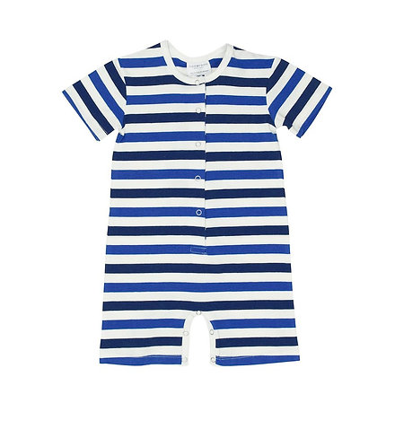 TooByDoo Baby Boy Stripe Shortie Jumpsuit