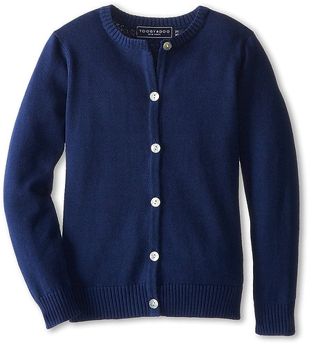 TooByDoo Navy Cardigan Sweater
