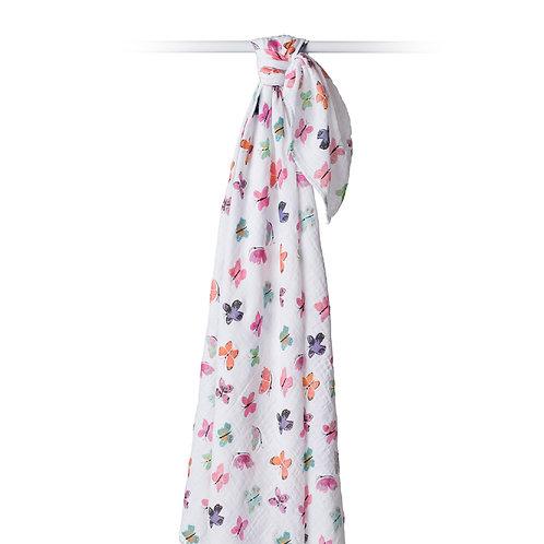 Butterfly Swaddle Blanket