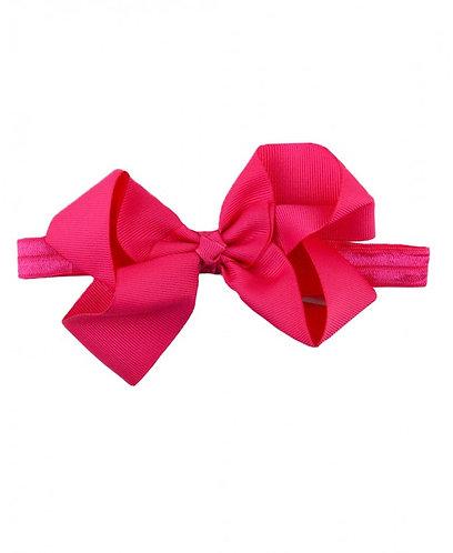 Candy Pink Headband Bow