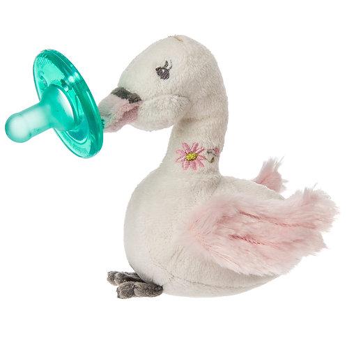 Itsy Glitzy Swan Wubbanub