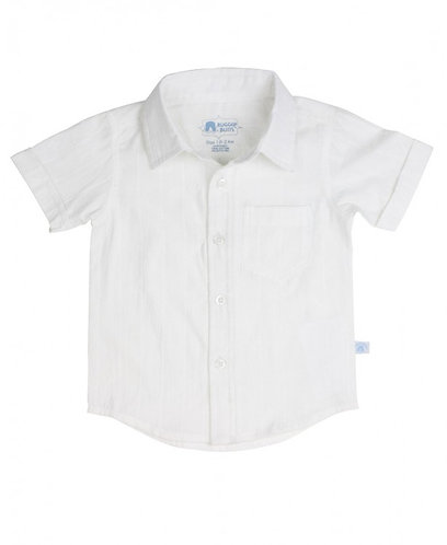Rugged Butts White Dolby Short Sleeve Shirt