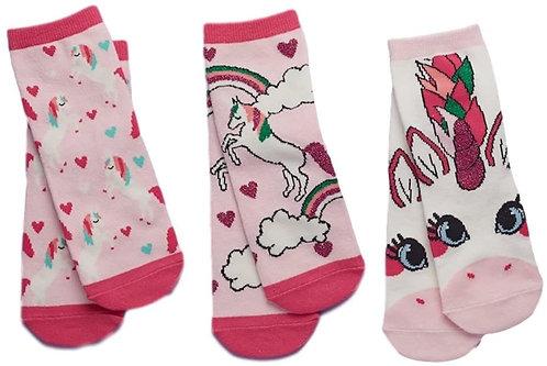 Glitter Unicorn Sock Gift Set