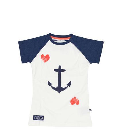 Navy Anchor Tee
