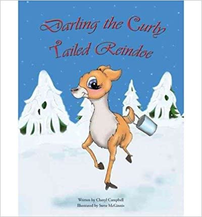 Darling the Curly Tailed Reindoe - Hardcover