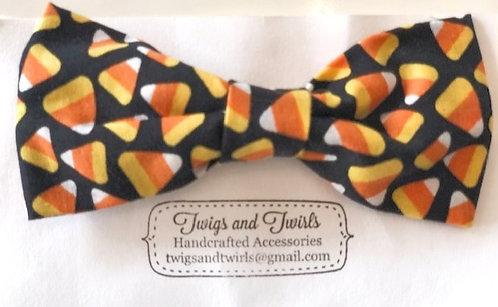 Candy Corn Halloween Bow - Twigs and Twirls