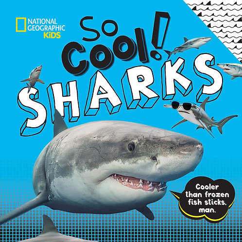So Cool Sharks Book