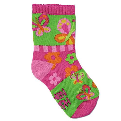 Stephen Joseph Girls Butterfly Socks