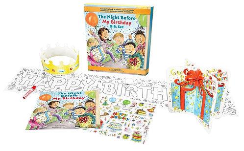 Night Before My Birthday Gift Set