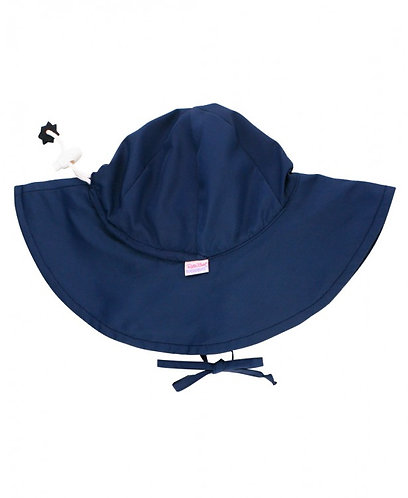 Navy Waterproof Swim Hat