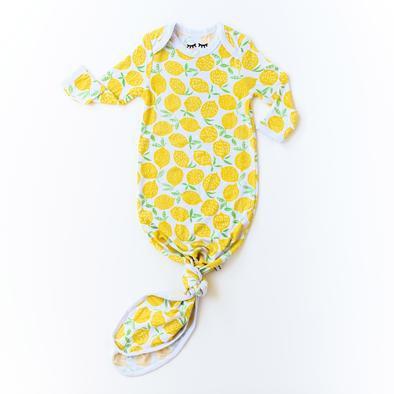 Lemon Bamboo Infant Gown