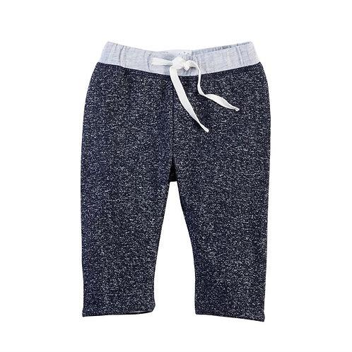 Mud Pie Baby Boy Reversible Blue Pants