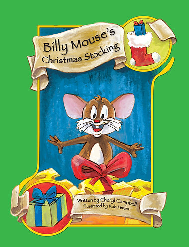 Billy Mouse's Christmas Stocking - Hardcover