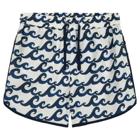 Petit Peony Wave Rugby Short