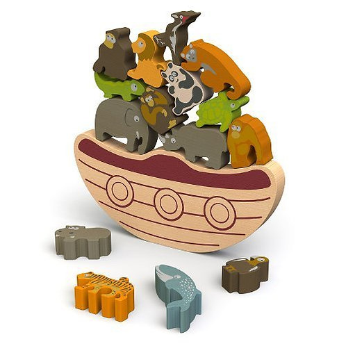 Begin Again Animal Balance Boat Game
