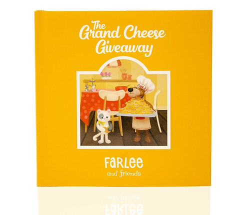 Farlee and Friends ~ The Grand Cheese Giveaway Book