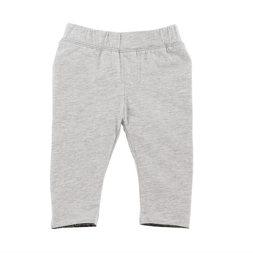 Mud Pie Baby Boy Reversible Gray Pants
