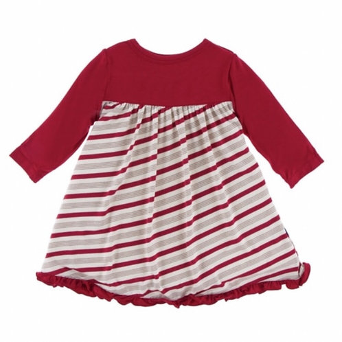 Kickee Pants Candy Cane Baby Swing Dress