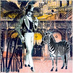 And His Zebra