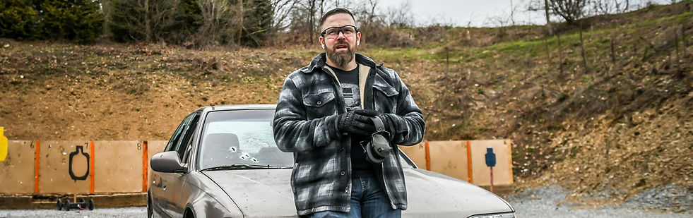 Phill teaching Armed Vehicle Defense in PA
