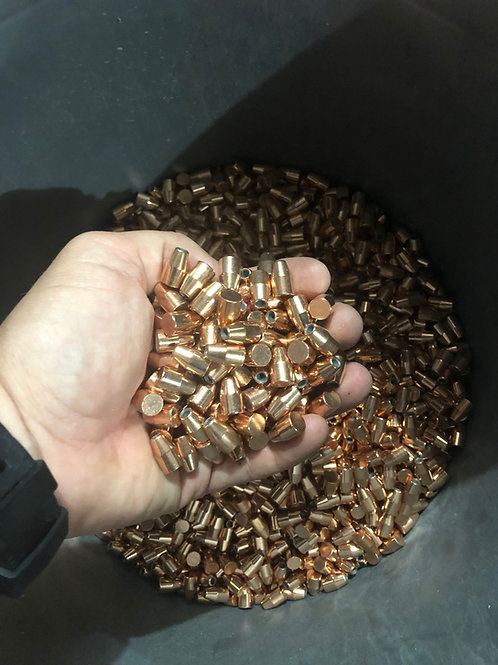 Hornady HAP 125gr 9mm JHP Bullets - 6500 count