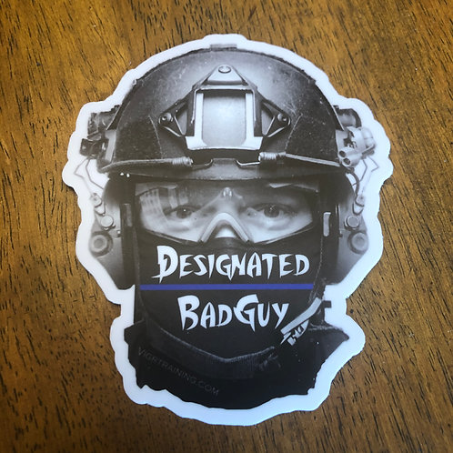 Designated BadGuy Sticker