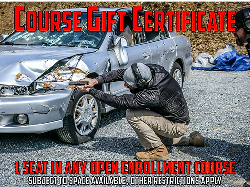 Open Enrollment Course Gift Certificate