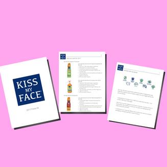 Kiss My Face - Media Kit