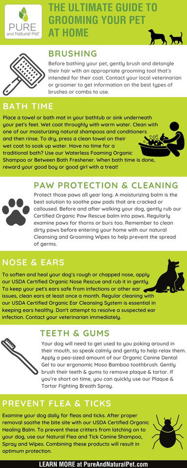Infographic - Pure and Natural Pet
