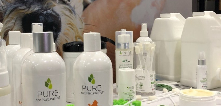 Pure and Natural Pet Shows New Products at Groomers Expo