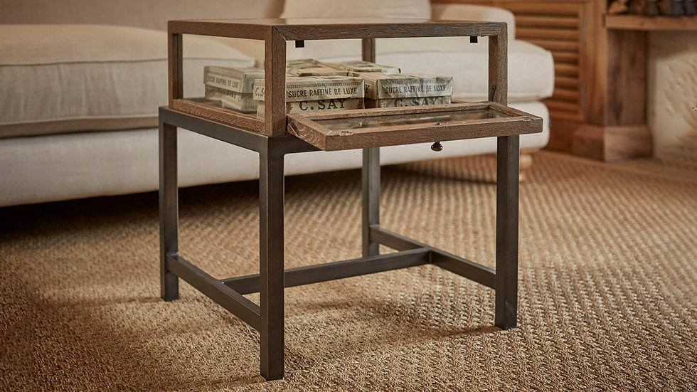 Bard Glass Side Table