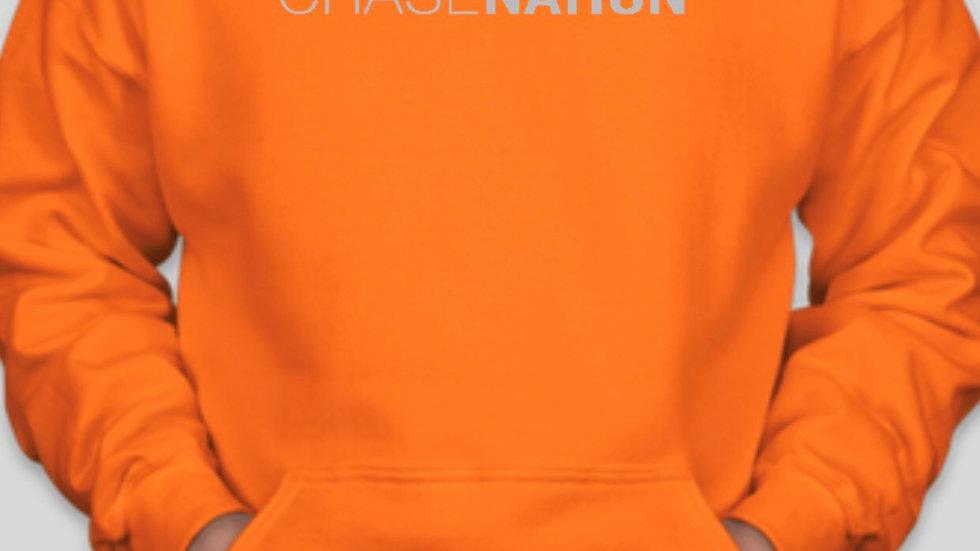 Unisex Hooded Sweatshirt - Blaze Orange