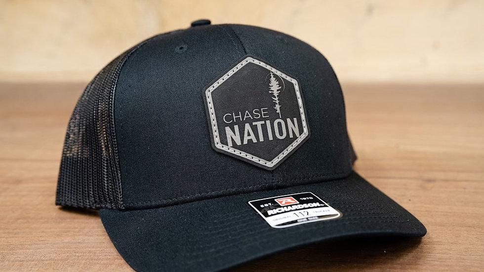 Black Patch Hat