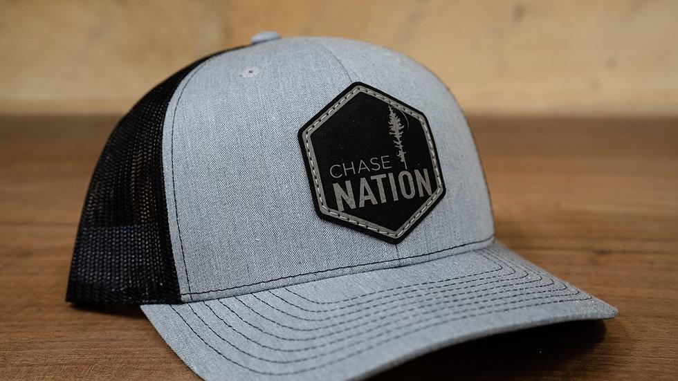 Grey Patch Hat