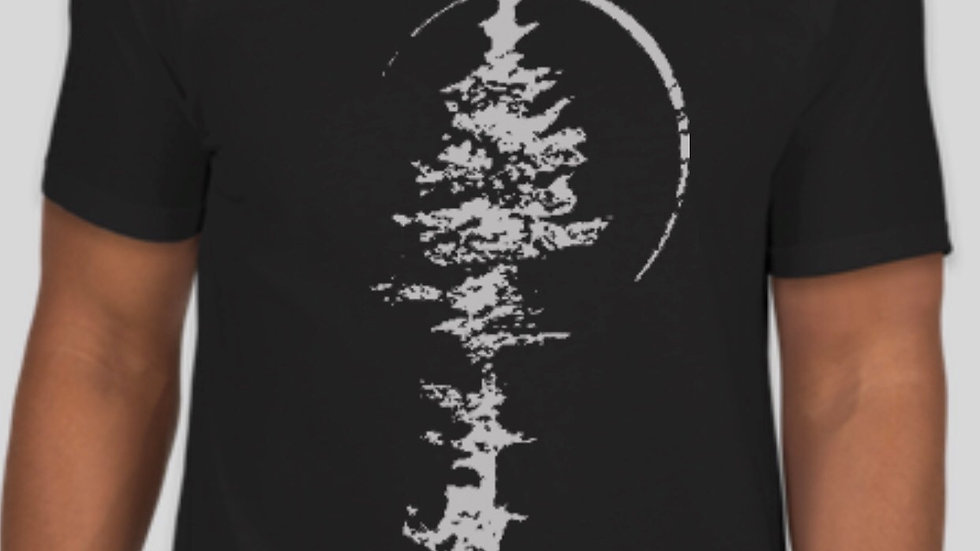 Lone Pine Bowhunter Tee - Black
